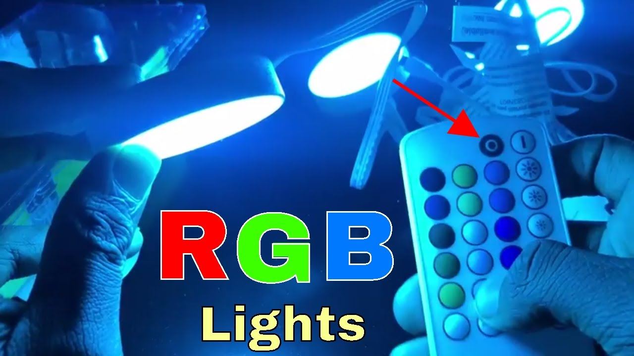 Rgb Led Puck Light Kit For You Videos White Finish Equiptment Get Fixed