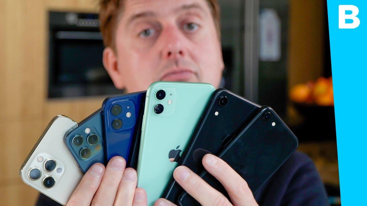 ALLE iPhones die te koop zijn welke iPhone is voor wie