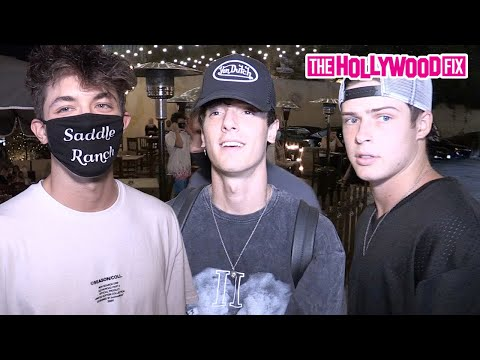 Griffin Johnson & Bryce Hall Talk Dixie D'Amelio & Addison Rae Breakup With Blake Gray & Nate Wyatt