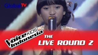 "Tasya ""Feeling Good"" I The Live Rounds I The Voice Kids Indonesia GlobalTV 2016"