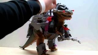 Dino-Riders Tyrannosaurus Rex Toy Review