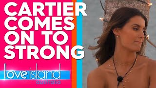 Cartier makes her commitment to Gerard known | Love Island Australia 2019