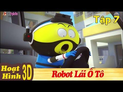 Phim Hoạt Hình Hay Nhất 2018 - ROBOT LÁI Ô TÔ - Binh Đoàn Người Máy T-Buster - Phim Hoạt Hình 3D