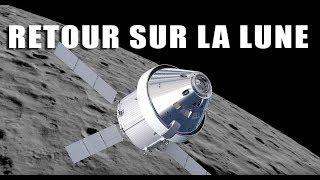 Orion  Un vaisseau pour retourner sur la lune  LDDE
