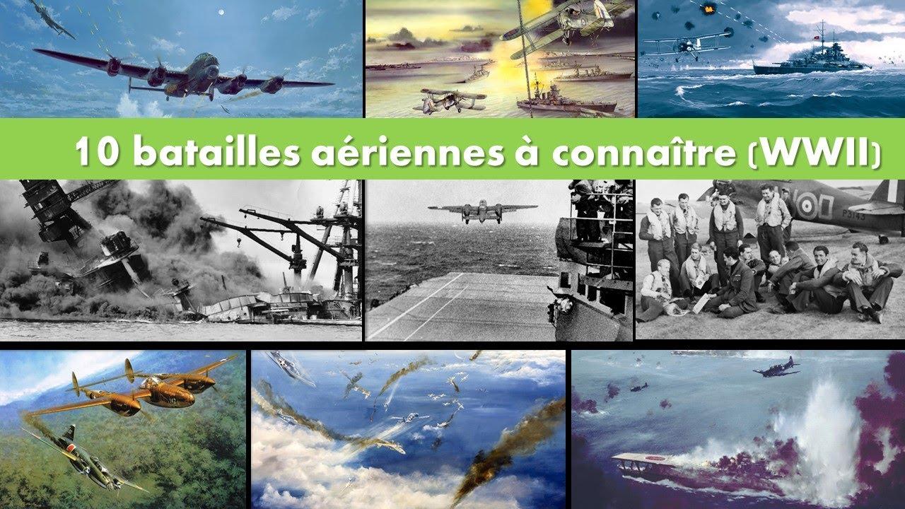Download 10 BATAILLES AERIENNES DE LA SECONDE GUERRE MONDIALE   Avec un pilote de chasse