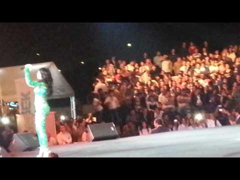 Exclusive : Diva Haifa was singing Bokra Bfarjik + I'll survive From Erbil First Concert