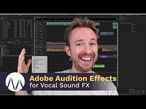 adobe audition effects for vocal sound fx youtube. Black Bedroom Furniture Sets. Home Design Ideas