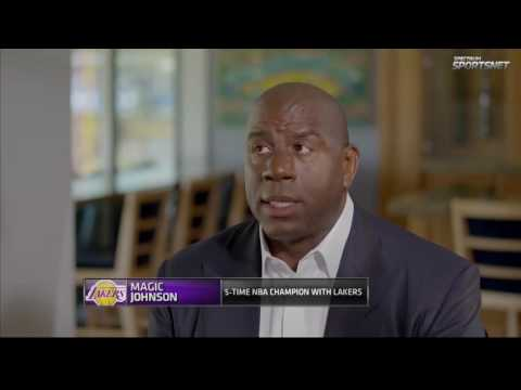 Magic Johnson talks Lakers Young Core