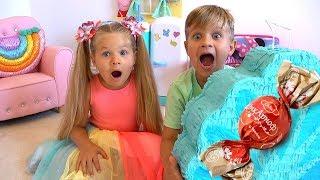 ديانا ورما يريدان الحلوى