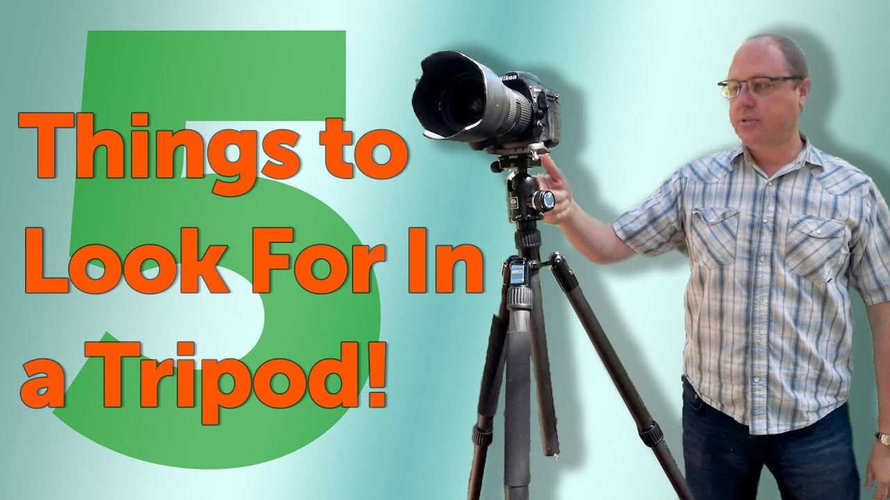 5 Things To Look For In A Tripod Does The Sirui W 2204 Check The Boxes Youtube