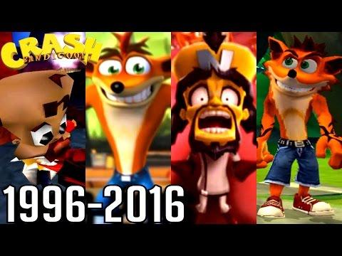 Crash Bandicoot ALL ENDINGS 1996-2016 (PS1, PS2, Xbox, GC)
