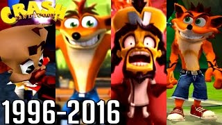 Crash Bandicoot ALL ENDINGS 1996-2016 (PS1, PS2, Xbox, GC)