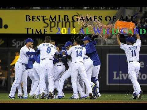 Best MLB Games of All Time - 2014 AL Wild Card