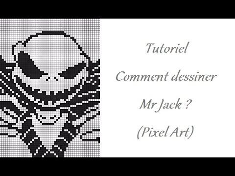 Tutorial How To Draw Mr Jack In Pixel Art