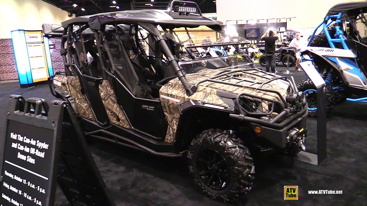 Can am commander 1000 limited 2016 for sale - 2016 Can Am Commander Max Xt 1000 Atv Walkaround 2015 Aimexpo Orlando Youtube