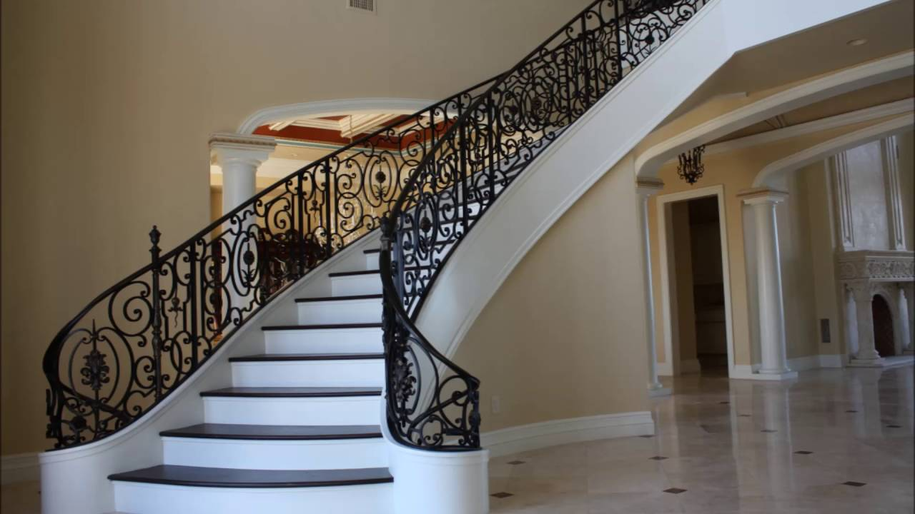Luxury staircase design youtube for Luxury staircases