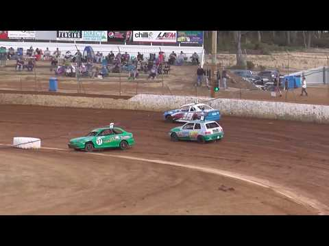Here is a collection of crashes & other incidents from the night that was the 11/1/20 at Cranes Combined Carrick Speedway. - dirt track racing video image
