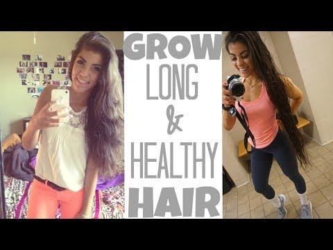 HOW TO GROW LONG HEALTHY HAIR FAST