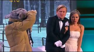 Уральские пельмени свадебная фотосессия зимой