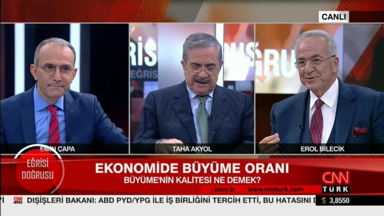 TÜSİAD Yönetim Kurulu Başkanı Erol Bilecik CNN Türk Eğirisi Doğrusu Programı'na Konuk Oldu