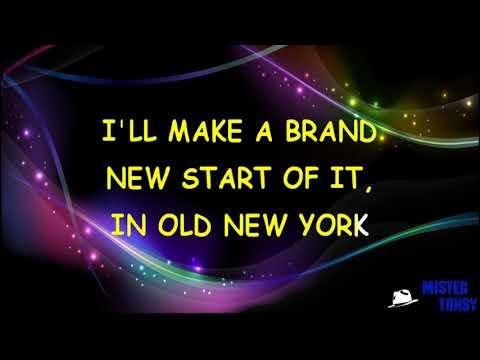 Liza Minnelli   NEW YORK, NEW YORK Karaoke