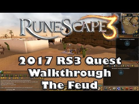 RS3 Quest Guide  The Feud  2017Up to Date!