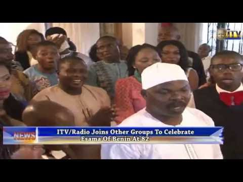 ITV/Radio Joins Other Groups To Celebrate Esama Of Benin At 82