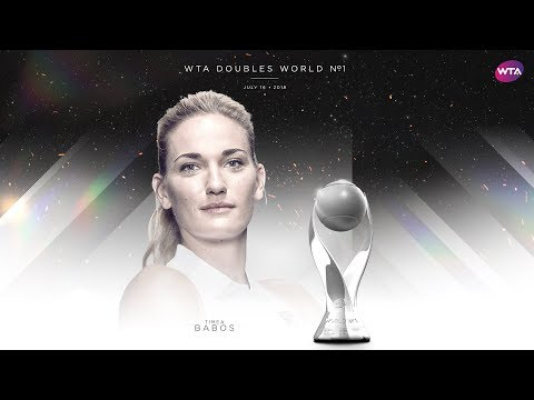 Timea Babos on becoming new WTA Doubles World No.1 | Wimbledon 2018
