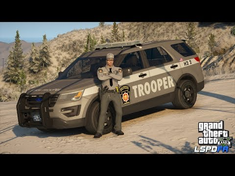 GTAV-LSPDFR Day-337 Pennsylvania State Police! That's what you get! Road to 10K!