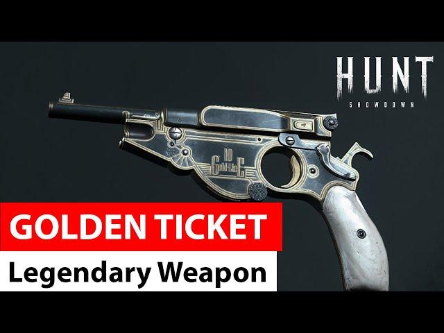 Golden Ticket for Bornheim No. 3 | Legendary Weapons of Hunt: Showdown