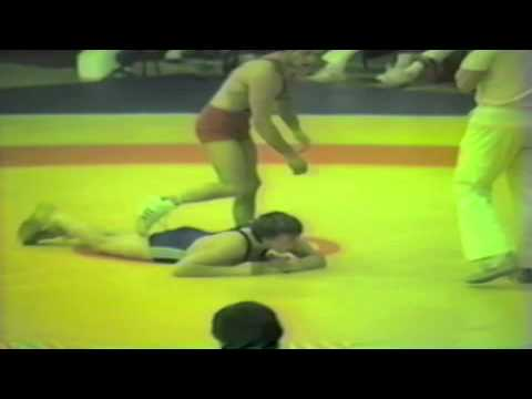 1988 Senior European Championships: 52 kg Hartmut Reich (GDR) vs. Unknown