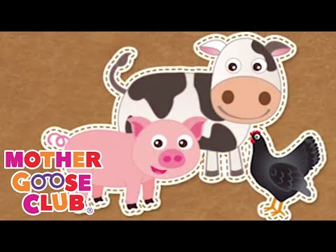 All Around the Barnyard   Mother Goose Club Playhouse Kids Video   Baby songs for children
