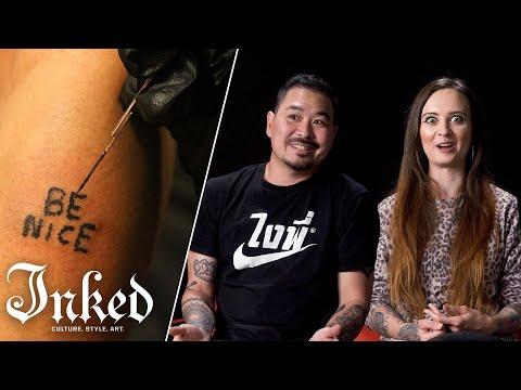 Tattoo Artists Discuss Hand Poked Tattoos | Tattoo Artists React