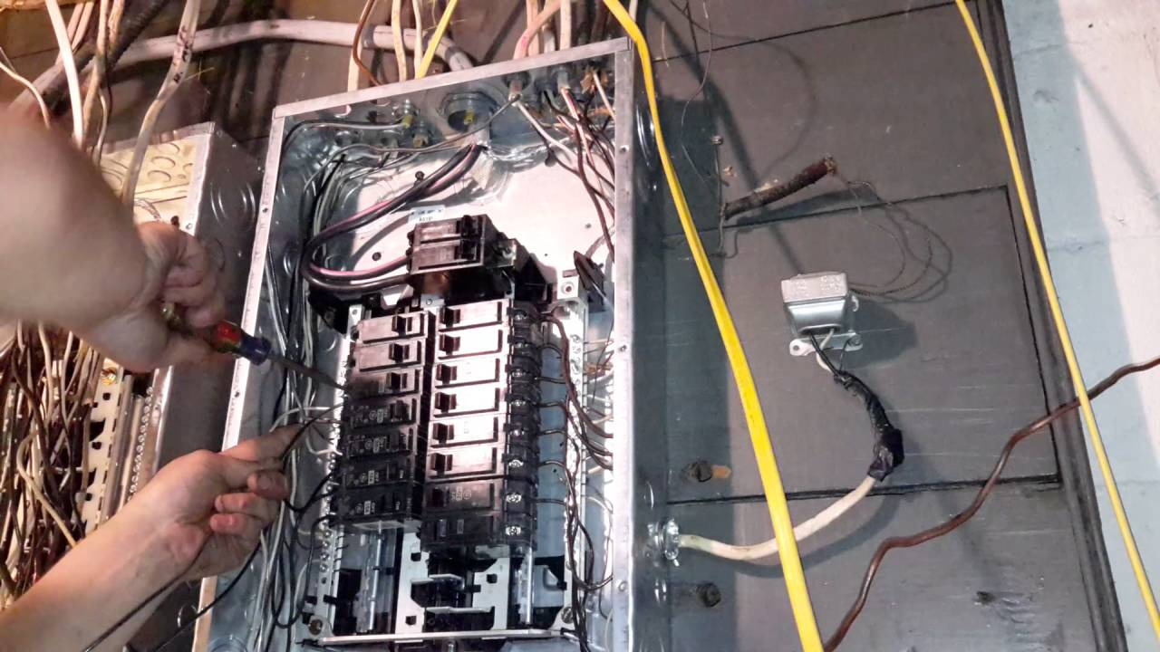 medium resolution of single pole wiring diagram for breaker box