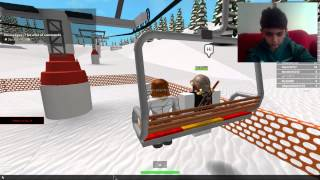 Mega Games World - roblox - bölüm 1 - Ski Snowboard (beta) - pek güzel de'il