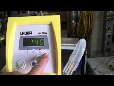 Lauda Alpha RA 8 Chiller/Recirculator