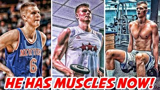 Kristaps porzingis has muscles now! | nba news