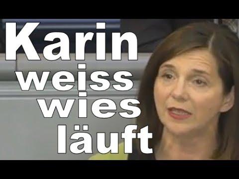 Karin Göring Eckardt : Was vernünftig ist bestimme ich - Grüne Bundestag