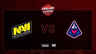 Natus Vincere vs Winstrike, DreamLeague S13 QL, bo2, game 1 [Maelstorm vs Jam]
