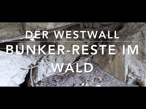 Westwall-Bunker - Historische Orte