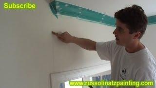 How to fix a crack in the DryWall (Part 1)