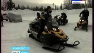 видео снегоход