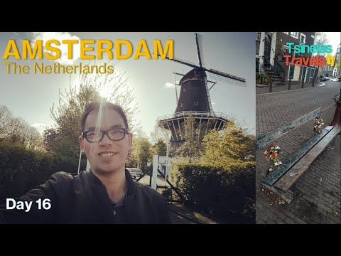 Europe Solo Travel Day 16 of 30 - Amsterdam, The Netherlands