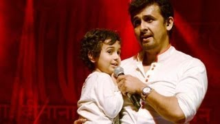 Nevaan Nigam Singing in front of Lata Mangeshkar with Sonu Nigam !