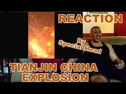 Tianjin China Explosion - Best Footage By Far REACTION