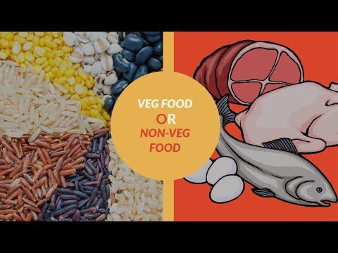 Veg Food Or Non Veg Food Eitheror Youtube