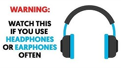 If You Use Headphones or Earphones Often, Then Watch this For Your Own Sake