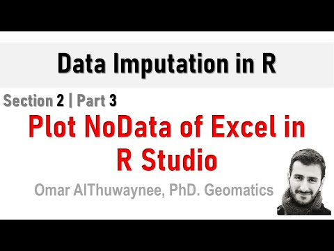 How to visualize the missing data attributes of Excel sheet in R?
