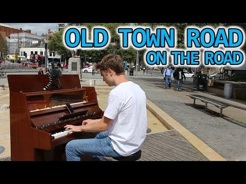 I played OLD TOWN ROAD on piano in public