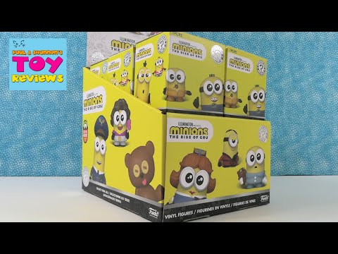 Minions Rise Of Gru Funko Mystery Minis Full Case Unboxing   PSToyReviews